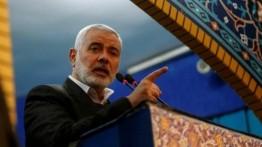 Haniyeh ajak warga Palestina Tepi Barat lakukan perlawan terhadap Israel