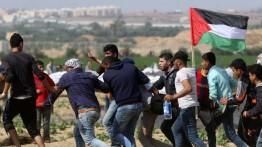Seorang pemuda Palestina meninggal dan 56 lainnya cedera dalam aksi unjuk rasa perbatasan