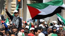 Ribuan warga Eropa di Jerman, Belanda dan Perancis bersatu dukung Palestina