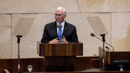 Isi pidato Wakil Presiden AS Mike Pence di Knesset Israel