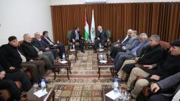 Petinggi Hamas sambut delegasi intelijen Mesir di Gaza