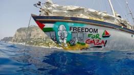 Komite Nasional Anti-Blokade: Kapal 'Freedom for Gaza' Swedia mendekati Gaza