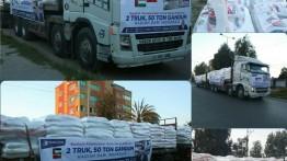 50 Ton gandum bantuan masyarakat Indonesia berhasil masuk Gaza