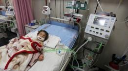 Di Gaza, anak-anak wafat di hadapan orang tua mereka