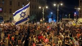 Menteri Israel: Protes Anti-Netanyahu Bisa Menyebabkan Pertumpahan Darah