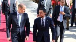 Pangeran William tiba di Yordania mengawali kunjungan bersejarahnya di Timut Tengah