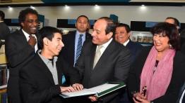 Presiden As-Sisi buka Pameran Buku Internasional Kairo
