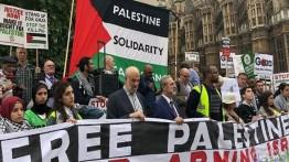 Warga Inggris gelar aksi bela Palestina di London