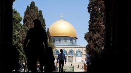 Sepanjang bulan Juli, Israel lakukan 140 kali pelanggaran terhadap Al-Aqsa