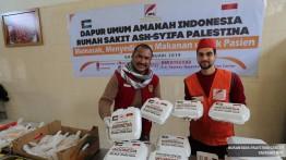 PASIEN DI GAZA DILANDA KRISIS MAKANAN, Untuk menyelamatkan nyawa pasien, Rakyat Indonesia buka DAPUR UMUM DI RUMAH SAKIT SYIFA DI GAZA, PALESTINA