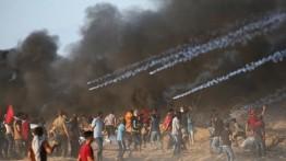 Tujuh warga meninggal dan 252 luka-luka dalam demonstrasi Jumat di perbatasan Gaza