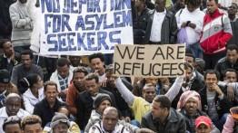 Protes kebijakan deportasi Israel, migran Afrika memulai mogok makan