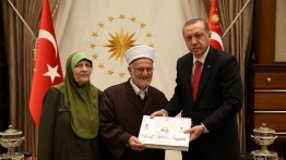 Erdogan sambut khatib Al-Aqsa Syekh Ikrimah Shabri