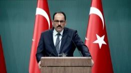 Jubir Erdogan: Dengan dukungan 14 negara, Resolusi menolak deklarasi AS terhadap Al-Quds akan dibawa ke Majelis Umum PBB.