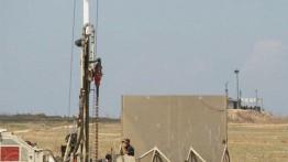 Israel membangun tembok di sepanjang perbatasan Gaza