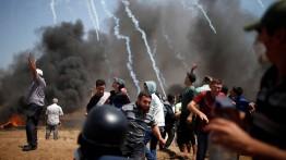Sniper Israel lukai 206 demonstran di perbatasan Gaza