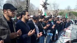 Ratusan warga Turki gelar sholat ghaib untuk korban Ghouta Timur