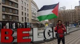 Akibat perang di Suriah, Aktivis Yahudi Swedia, Benjamin Ladra akan berlayar ke Mesir lalu berjalan kaki ke Palestina