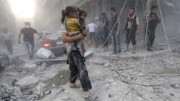 Serangan Ghouta masuk hari ketiga, ratusan warga Suriah merenggang nyawa