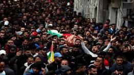 Seorang Pemuda Palestina meninggal akibat luka tembak peluru Israel