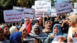 Peringati hari perempuan Internasional, ribuan wanita Gaza gelar pawai masal
