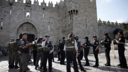 Karena membuat garfiti, 4 pemuda Palestina ditangkap oleh polisi Israel