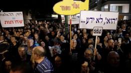 Warga Israel gelar unjuk rasa kritik kebijakan keamanan negara