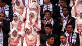 Nikah massal 25 pengantin Palestina