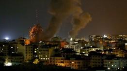 Israel menyerang Gaza dengan rentetan roket dan menewaskan balita
