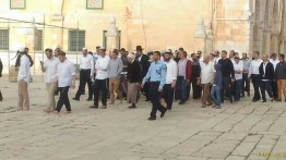 Lebih dari 1000 pemukim Israel serbu Masjid Al-Aqsa