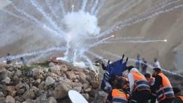 383 warga Palestina luka-luka dalam bentrok di Tepi Barat dan Jalur Gaza