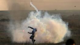 Israel gunakan ''gas tak dikenal'' untuk bubarkan demonstran Palestina