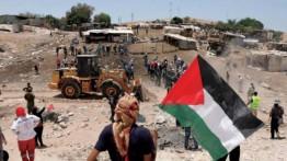 Warga Palestina berjaga-jaga mencegah penggusuran Khan Ahmar