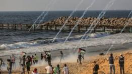 27 warga Gaza luka-luka dalam demonstrasi laut