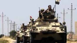 Militer Mesir tumpaskan 14 militan bersenjata di Sinai