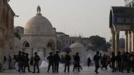 Israel serang kompleks Masjid Al-Aqsa saat shalat Jumat