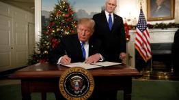 Deklarasikan Yerusalem ibukota Israel, Donald Trump dihujani kritikan