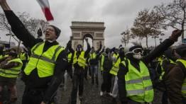 Ledakan masa di Perancis, 1000 orang ditangkap polisi