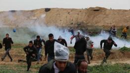Israel menggunakan jenis senjata baru untuk membubarkan demonstran Palestina