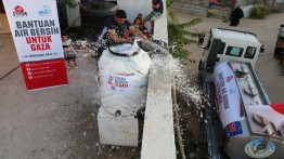 Yayasan Syam Indonesia sumbang 800.000 liter air bersih