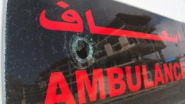 Tiga paramedis Bulan Sabit Merah terluka dalam serangan Israel di timur Jabalia