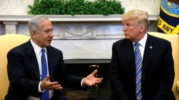 """Trump dan Netanyahu bahas masalah Palestina di Gedung Putih dalam """"15 menit"""""""