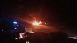 Militer Israel serang terowongan Hamas dan kapal di pelabuhan Gaza