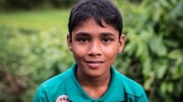 Pesan untuk dunia dari bocah Rohingya