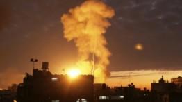 Serangan roket Israel di Gaza pagi ini, lukai sejumlah warga