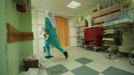 Petugas kebersihan rumah sakit mogok kerja, layanan kesehatan di Palestina lumpuh