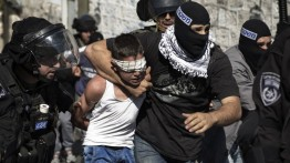 Dalam waktu sebulan Israel tangkap 500 tahanan Palestina, 70 diantaranya wanita dan anak-anak