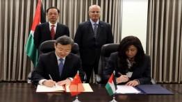 Otoritas Palestina-Cina tandatangani nota kesepahaman perdagangan