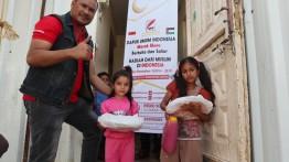 DapurUmum Indonesiadi Gaza, Hadiah Ramadhan dari Muslimin Indonesia.