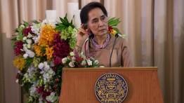 Inggris cabut gelar kehormatan dari Aung San Suu Kyi